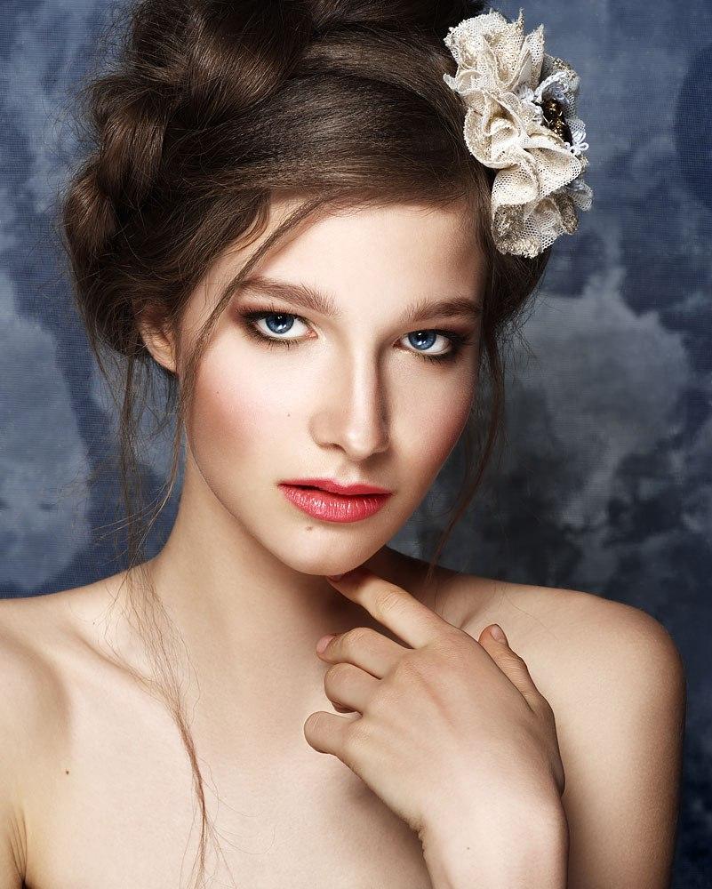 н едорогие свадебные прически плюс макияж в спб